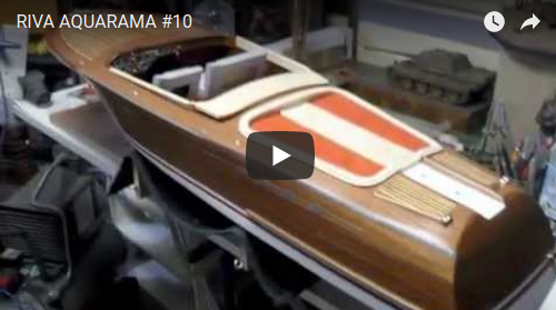 ITALIAN RUNABOUT - AMATI KIT - THE BUILD LOG 10