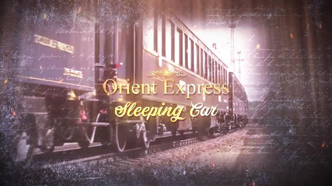 ORIENT EXPRESS SLEEPING CAR - NEW AMATI 1/32 KIT